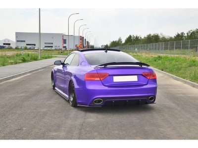 Audi RS5 8T Facelift MX Rear Bumper Extension