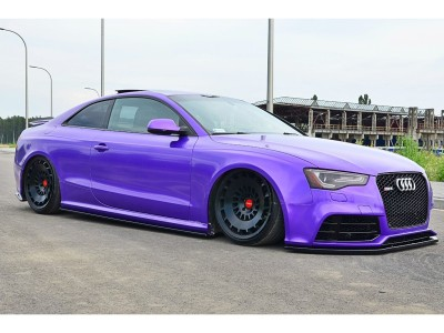 Audi RS5 8T MX Side Skirt Extensions