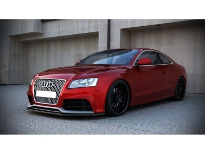 Audi RS5 8T Matrix Front Bumper Extension
