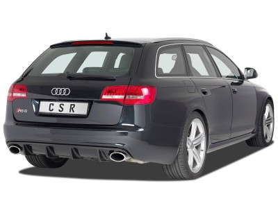 Audi RS6 C6 / 4F Cyber Rear Bumper Extension