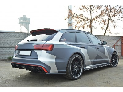 Audi RS6 C7 / 4G MX Rear Bumper Extensions