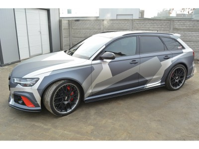 Audi RS6 C7 / 4G MX Side Skirt Extensions