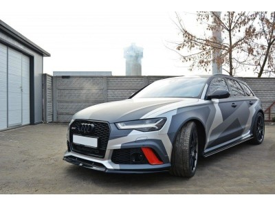 Audi RS6 C7 / 4G MX2 Front Bumper Extension