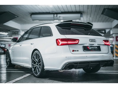 Audi RS6 C7 / 4G Matrix Rear Bumper Extensions
