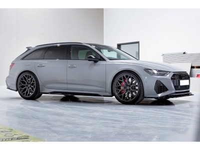 Audi RS6 C8 MX Front Bumper Extension