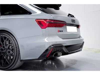 Audi RS6 C8 MX Rear Bumper Extension