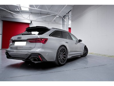 Audi RS6 C8 MX Rear Wing Extension