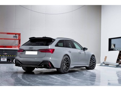 Audi RS6 C8 MX Side Skirt Extensions