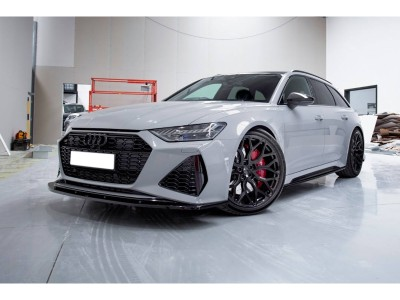 Audi RS6 C8 MX2 Front Bumper Extension