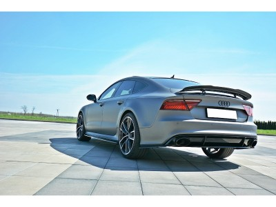 Audi RS7 4G MX Side Skirt Extensions