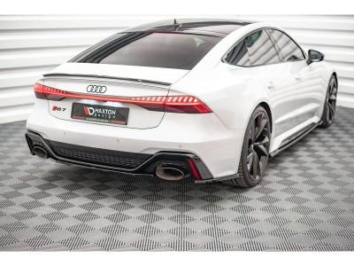 Audi RS7 C8 / 4K8 MX Rear Bumper Extension