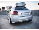 Audi S3 8P MX Rear Bumper Extensions