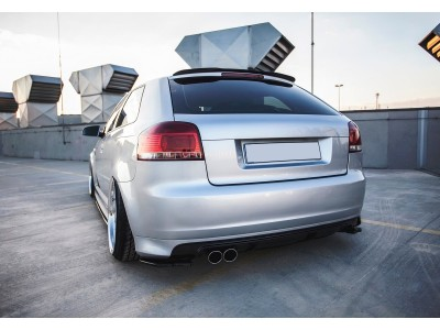 Audi S3 8P MX Rear Bumper Extensions