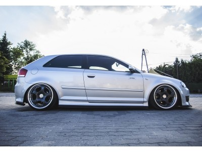 Audi S3 8P MX Side Skirt Extensions