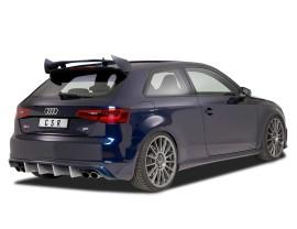 Audi S3 8V CX Rear Bumper Extension