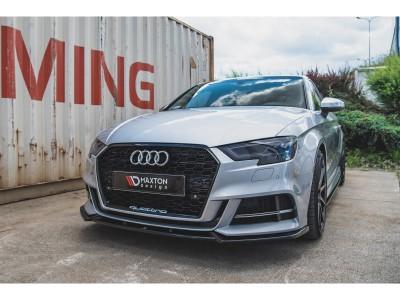 Audi S3 8V Facelift Master Front Bumper Extension