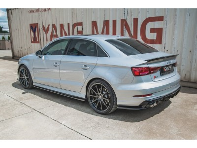 Audi S3 8V Facelift Master Rear Bumper Extension