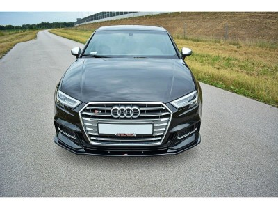 Audi S3 8V Facelift Matrix Front Bumper Extension