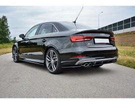 Audi S3 8V Facelift Matrix Rear Bumper Extension
