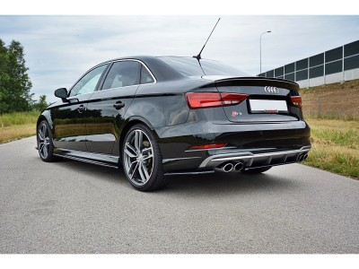 Audi S3 8V Facelift Matrix Side Skirt Extensions