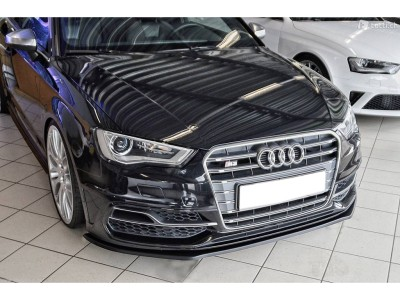 Audi S3 8V Intenso Front Bumper Extension