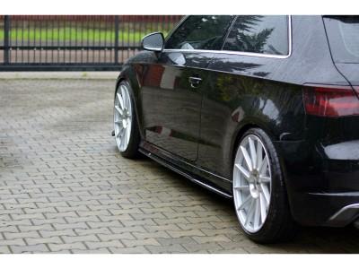 Audi S3 8V MX Side Skirt Extensions