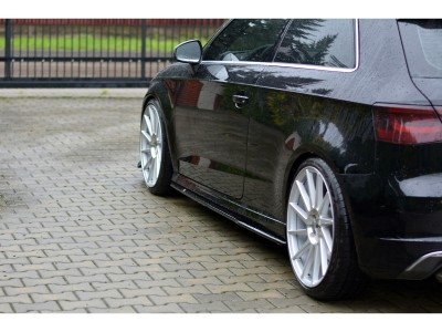 Audi S3 8V Master Side Skirt Extensions