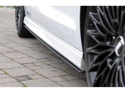 Audi S3 8V R1 Side Skirt Extensions