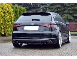 Audi S3 8V Racer Rear Bumper Extension