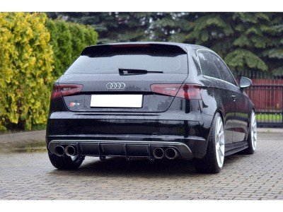 Audi S3 8V Racer Rear Bumper Extension