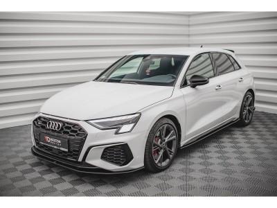 Audi S3 8Y MX Front Bumper Extension