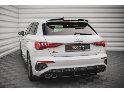 Audi S3 8Y MX Rear Bumper Extension