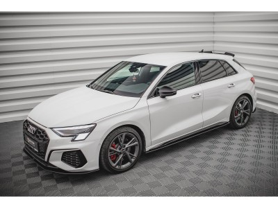 Audi S3 8Y MX Side Skirt Extensions