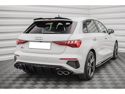 Audi S3 8Y Matrix Rear Bumper Extension