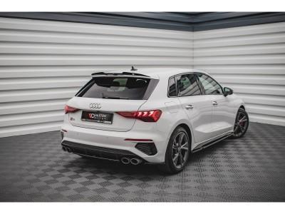 Audi S3 8Y Matrix2 Rear Bumper Extension