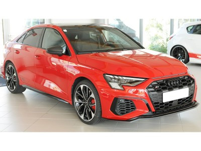 Audi S3 8Y Razor Front Bumper Extension