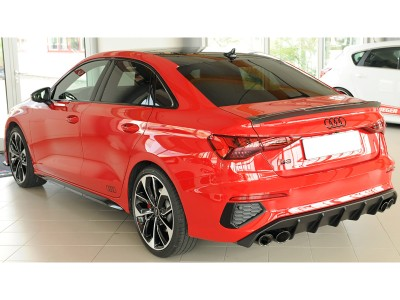 Audi S3 8Y Razor Rear Bumper Extension