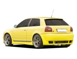 Audi S3 Rial Rear Bumper