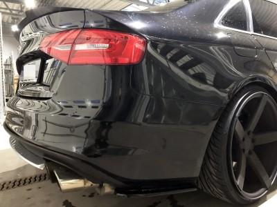 Audi S4 B8 / 8K Facelift MaxLine Rear Bumper Extensions