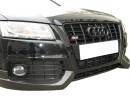 Audi S5 8T Exclusive Carbon Fiber Front Bumper Extensions