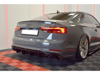 Audi S5 F5 Matrix Rear Bumper Extension