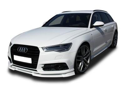 Audi S6 C7 / 4G Facelift V2 Front Bumper Extension