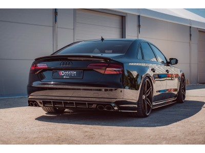 Audi S8 D4 / 4H Master Rear Bumper Extension