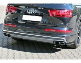 Audi SQ7 4M MX Rear Bumper Extensions