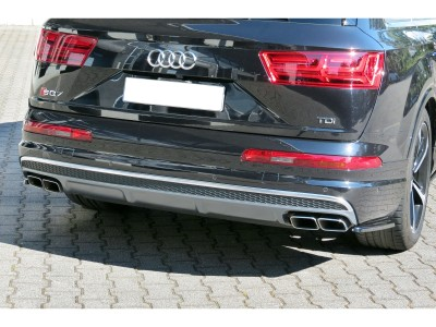 Audi SQ7 4M MX Rear Bumper Extensions
