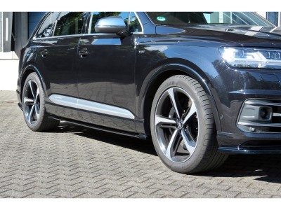 Audi SQ7 4M MX Side Skirt Extensions