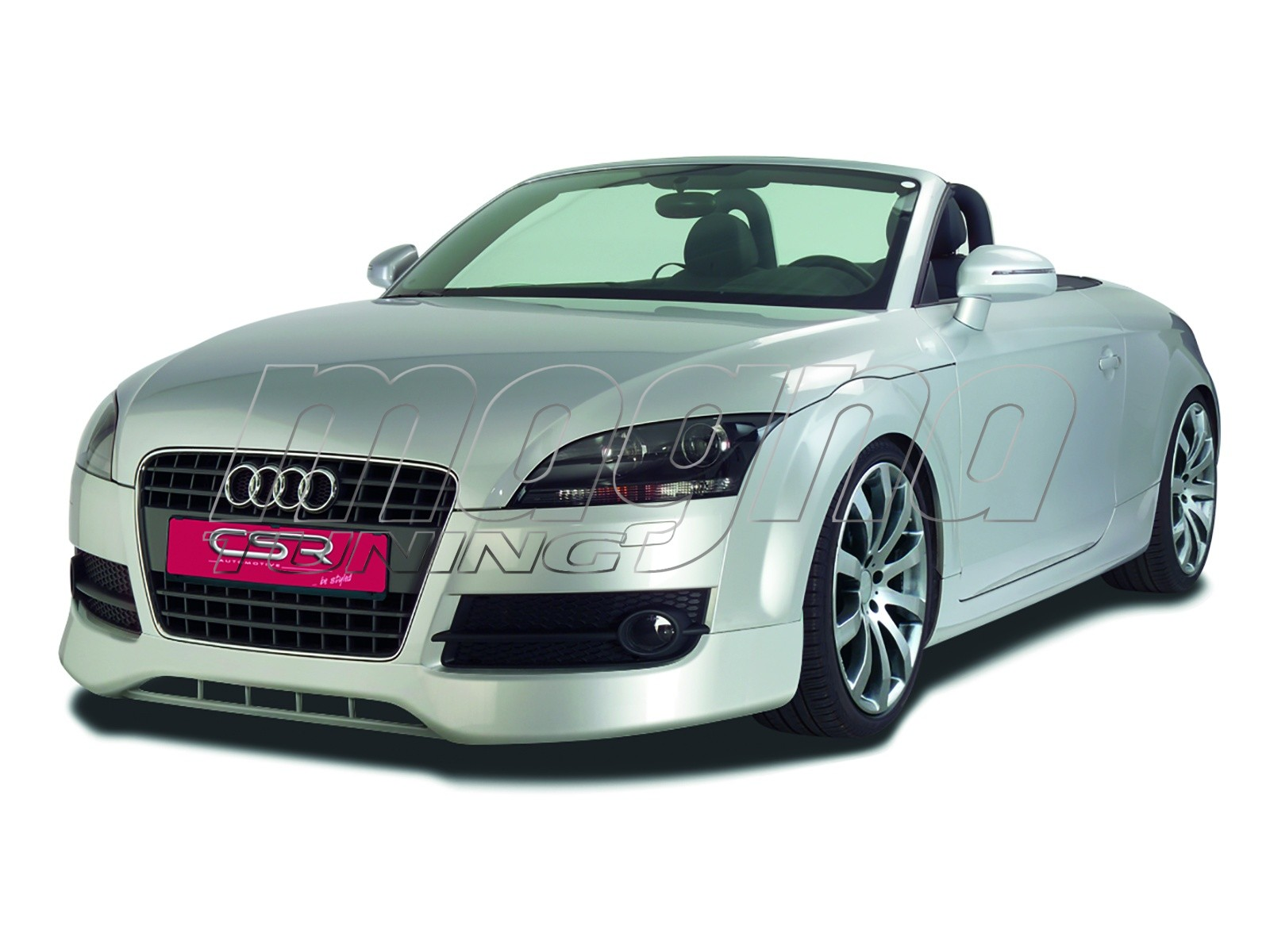 audi tt 8j newline front bumper extension. Black Bedroom Furniture Sets. Home Design Ideas
