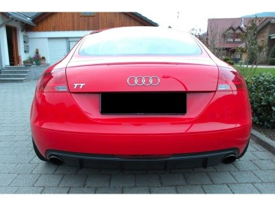 Audi TT 8J R-Look Rear Bumper Extension