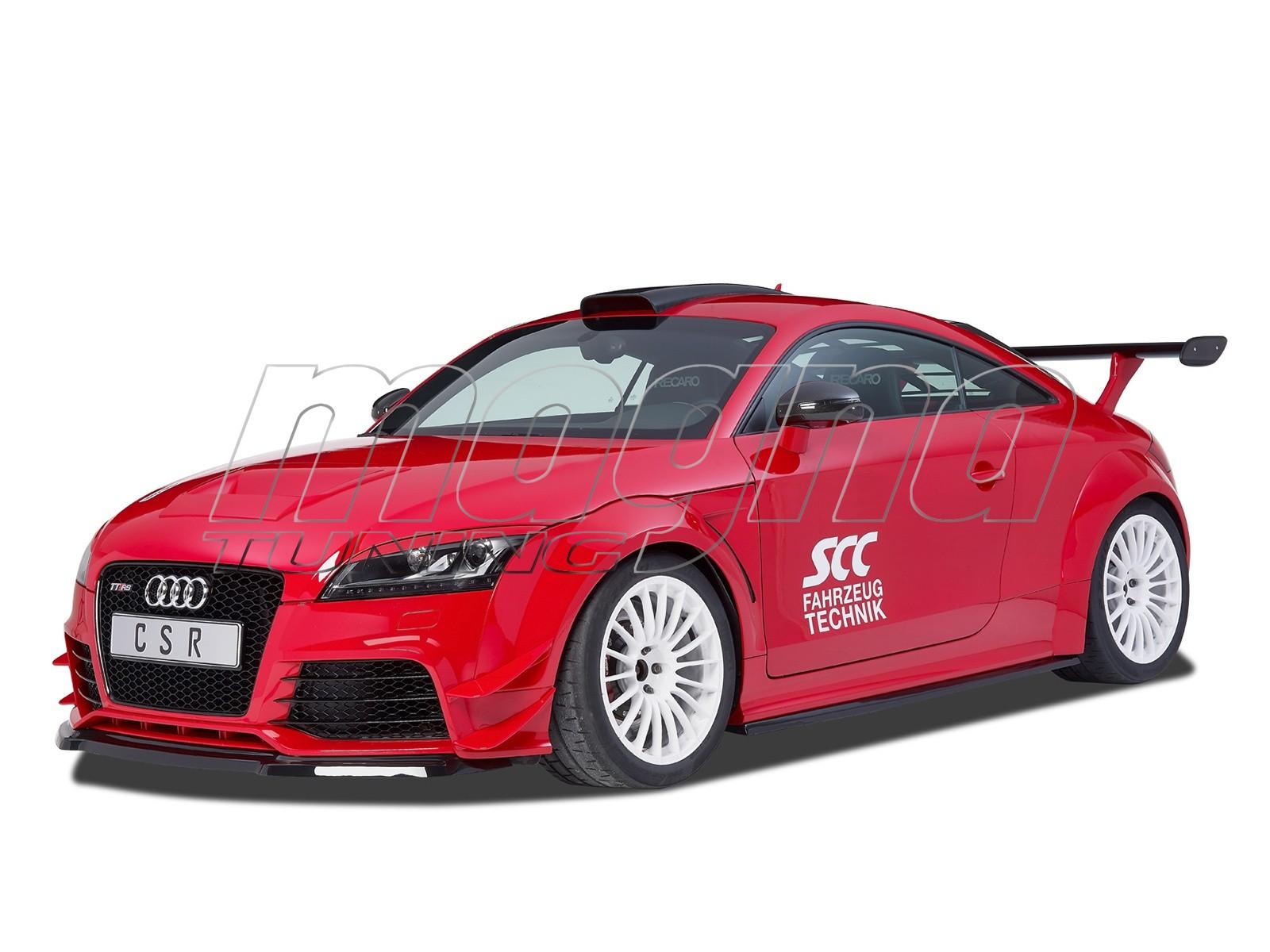 Audi TT 8J RS CX Front Bumper Extension