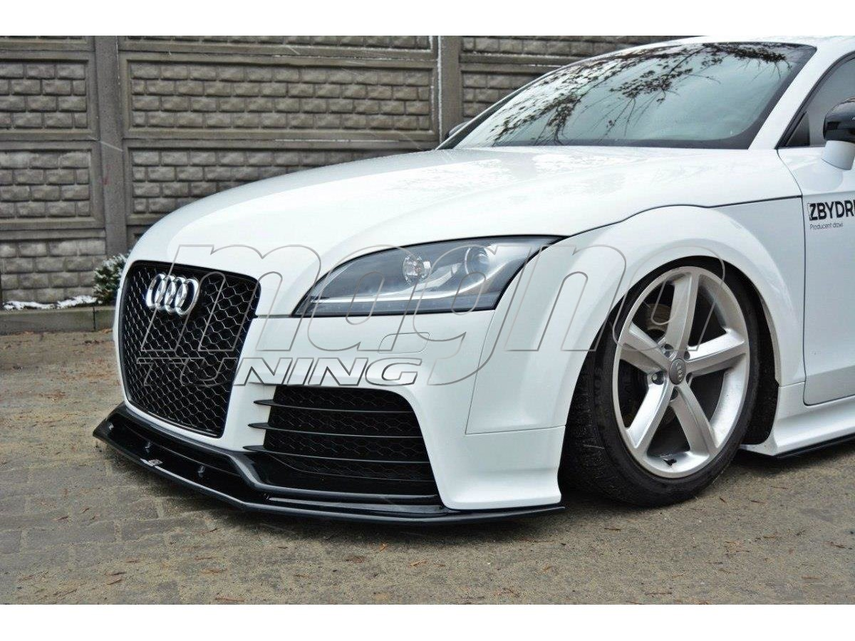 audi tt 8j rs master front bumper extension. Black Bedroom Furniture Sets. Home Design Ideas